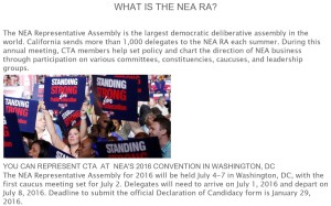 What is the NEA RA