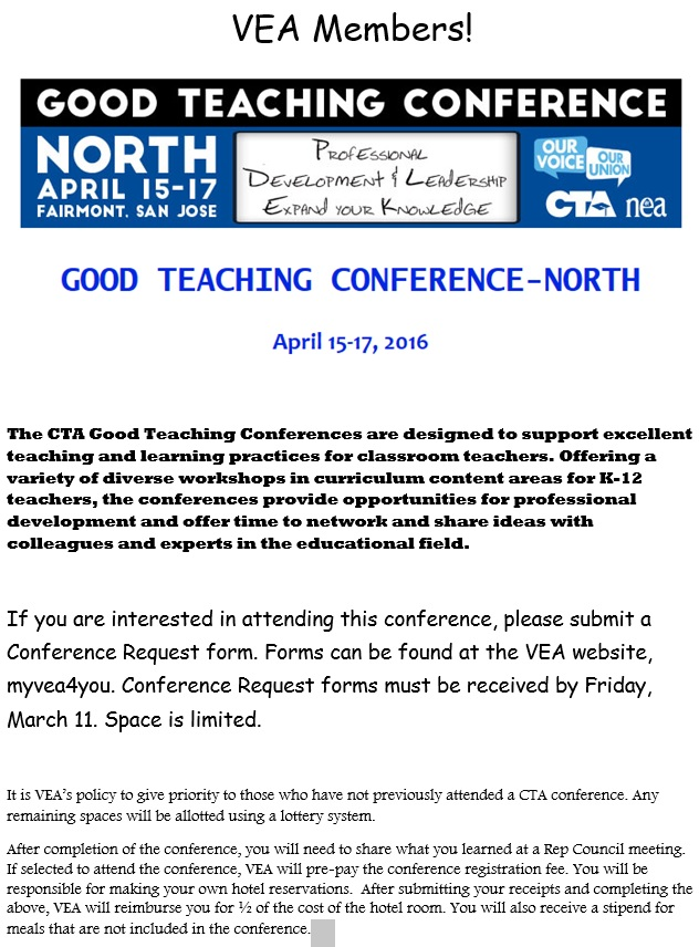 Good Teaching Conference